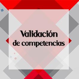 VALIDACIÓN DE COMPETENCIAS