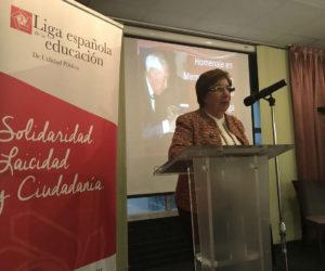 Carmen Pinedo, directiva de la Liga.
