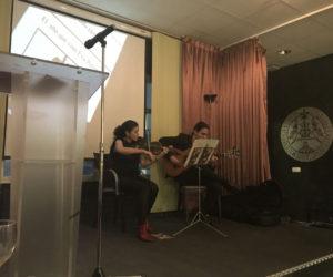 Interludio musical a cargo de Raquel Rivera y Guillermo Hernández de la Fuente.
