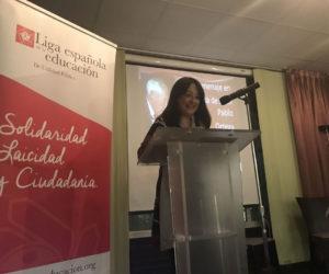 Angélica Tanarro, amiga y periodista.