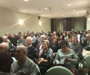Público asistente al homenaje de Juan Pablo Ortega.