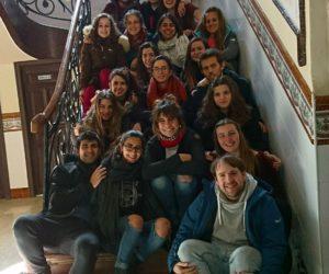 Grupo viajando a utopía